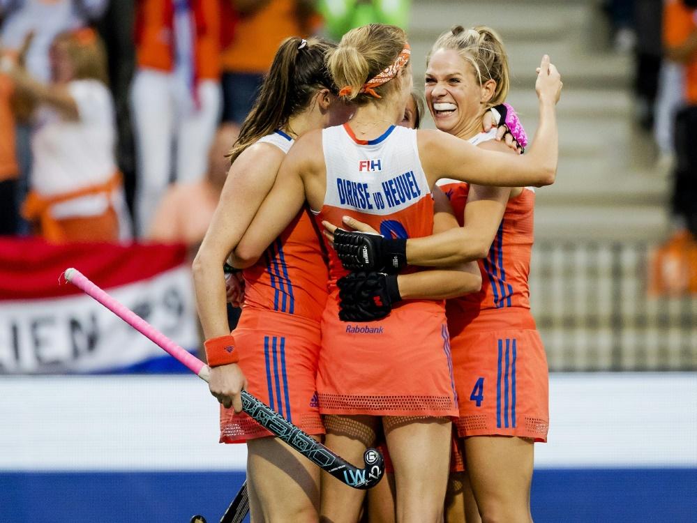 Die Niederlande gewinnt zum zweiten Mal die World League