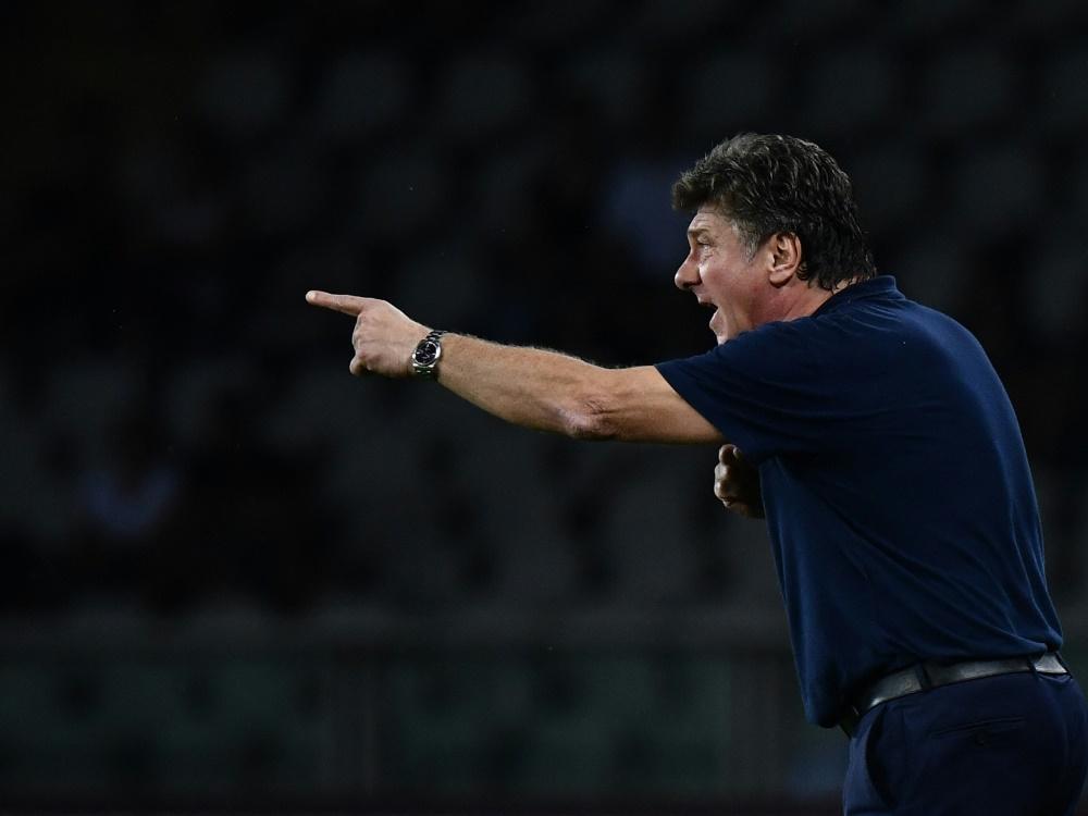 Walter Mazzarri ist der neue Trainer von Cagliari Calcio