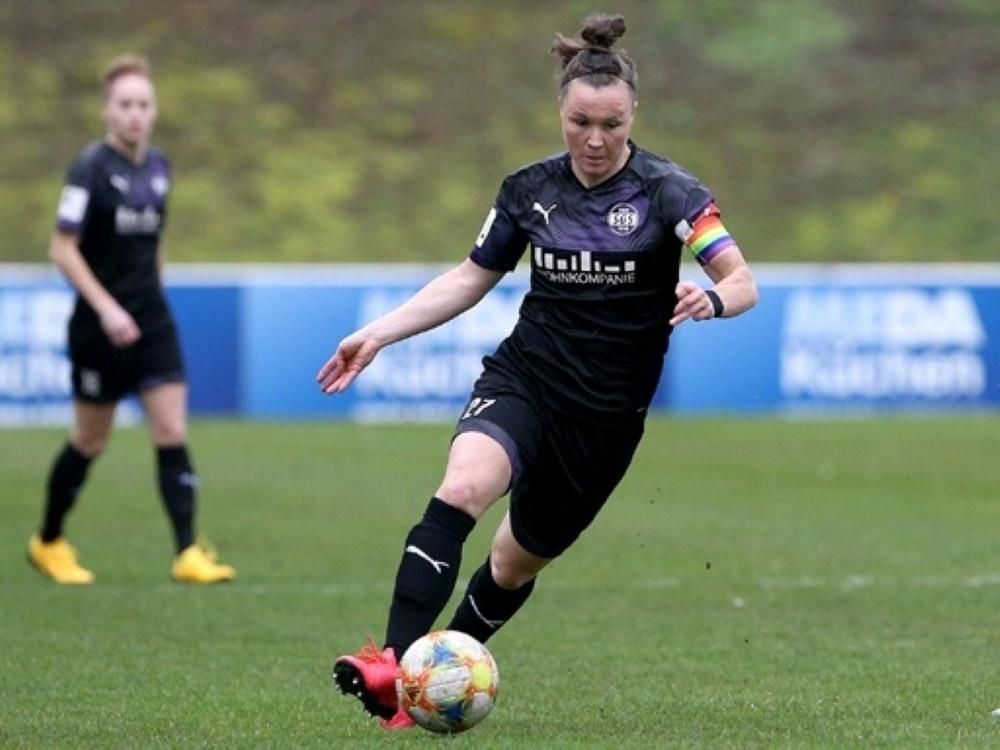 Marina Hegering glaubt an eine Chance im DFB-Pokalfinale