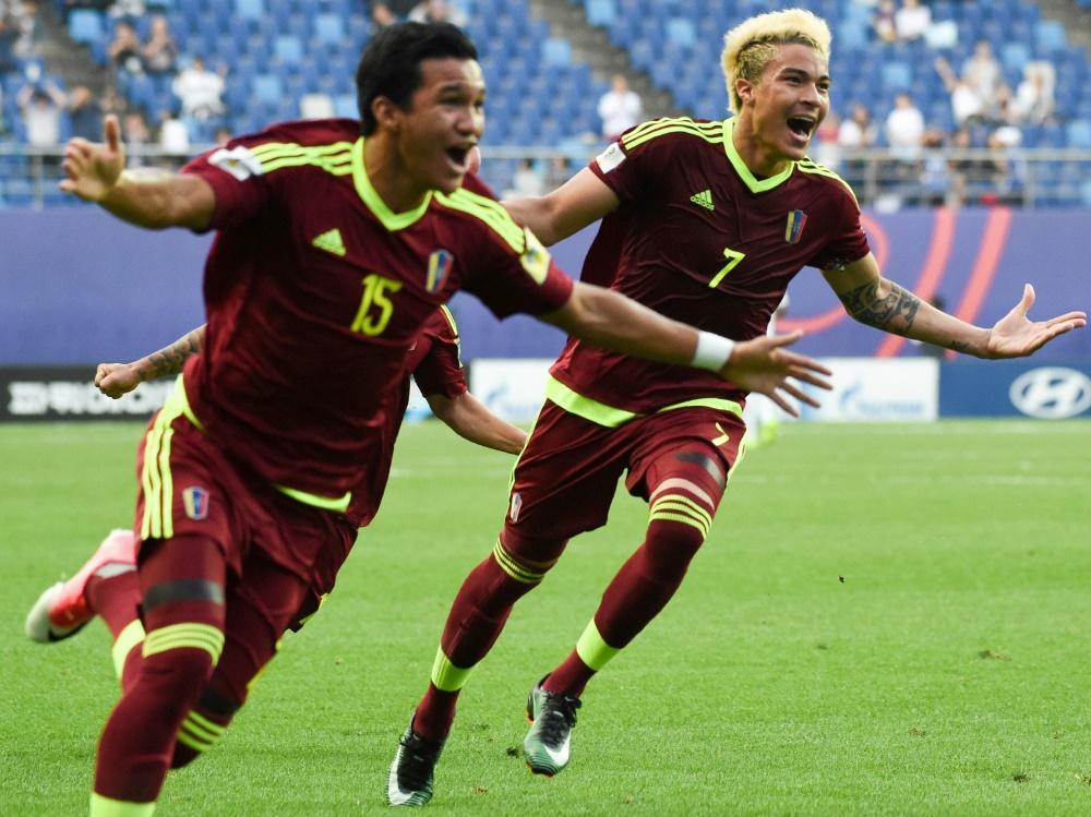 Venezuela steht im Finale der U20-WM
