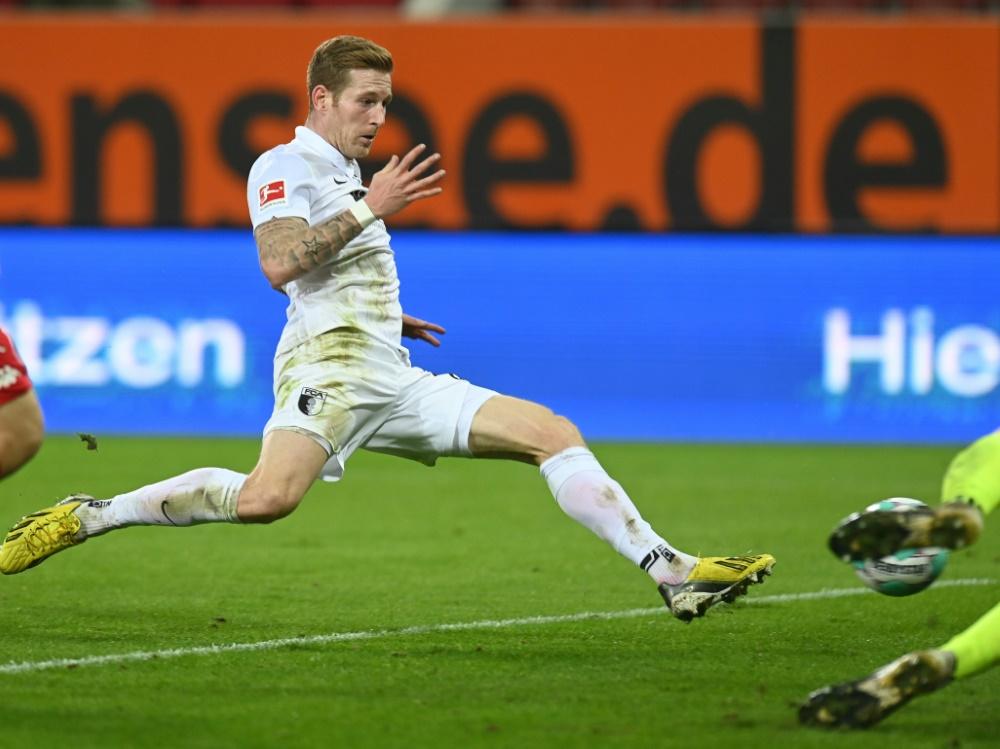 André Hahn beschert Augsburg den Sieg
