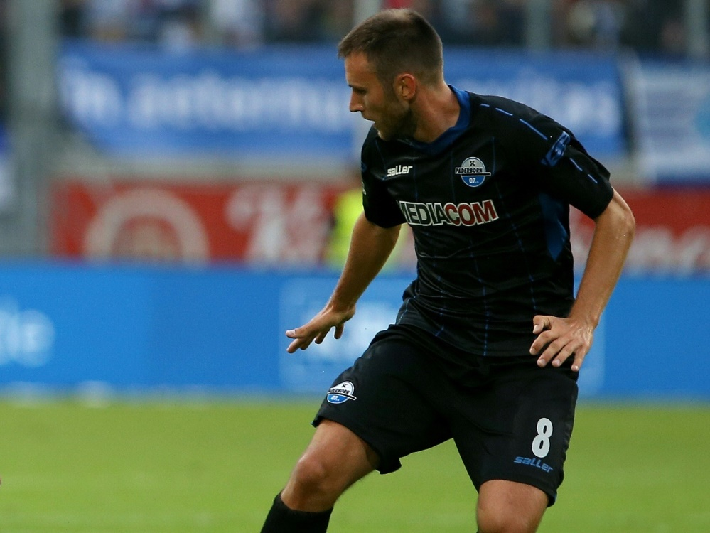 Kruska fehlt dem SC Paderborn für den Rest der Saison