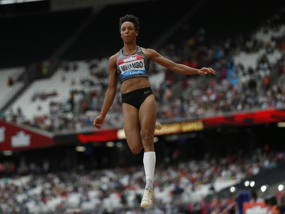 Malaika Mihambo sprang bei der DM 7,16m weit