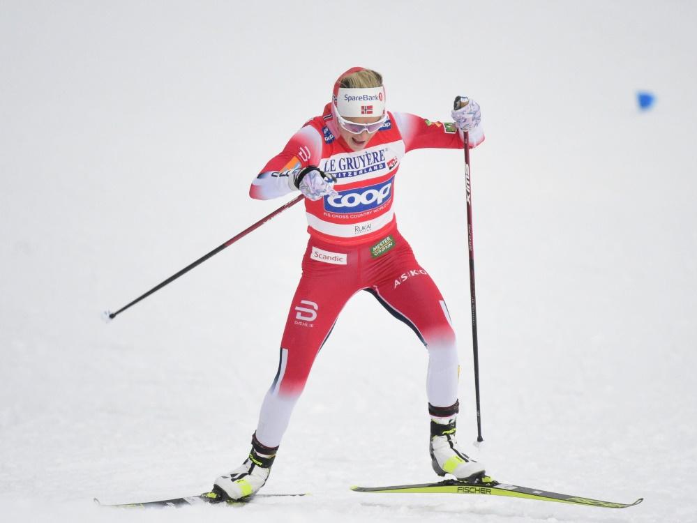 Therese Johaug zeigte ein starkes Comeback