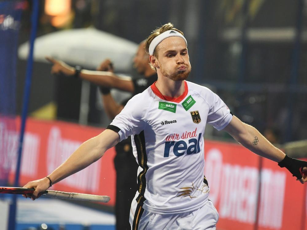Christopher Rühr erzielte zwei Treffer