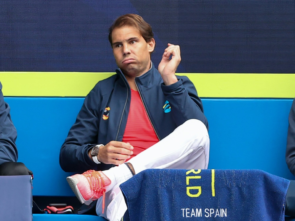 Auch gegen Griechenland muss Nadal auf der Bank bleiben