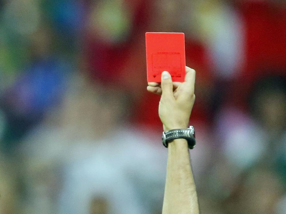 Jonathan Klinsmann sah in seinem ersten Länderspiel rot