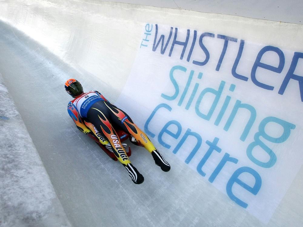 Die Rodel-WM in Whistler fällt Corona zum Opfer