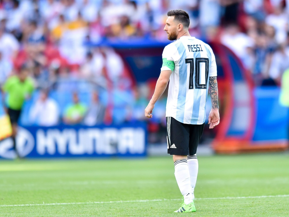 Die Albiceleste muss weiter auf Lionel Messi verzichten