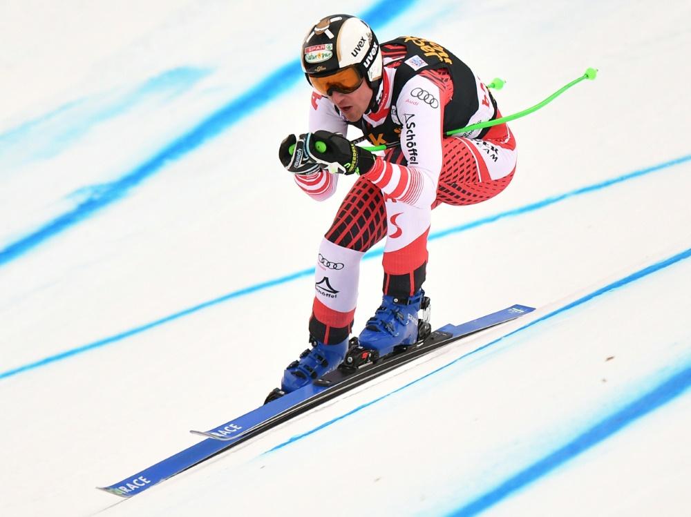 Hannes Reichelt nach Kreuzbandriss zurück im Training