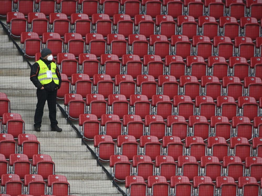 Geisterspiele als Gefahr für die Bundesliga