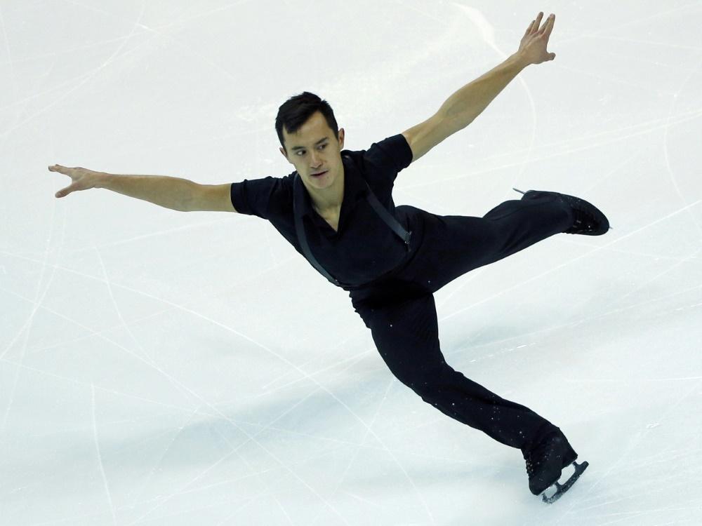 Patrick Chan wurde als Einzelläufer dreimal Weltmeister