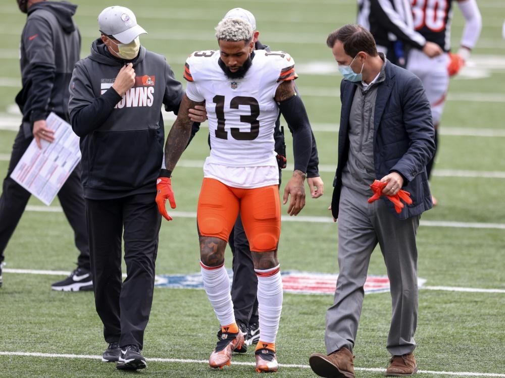 Odell Beckham Jr. fällt für den Rest der NFL-Saison aus