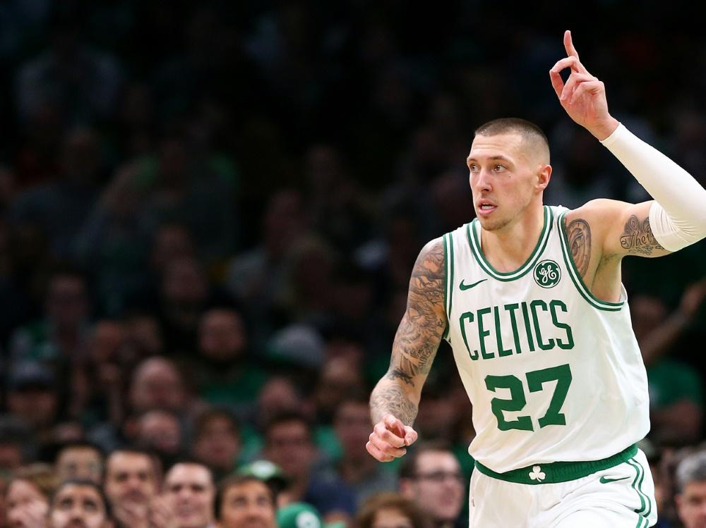 Daniel Theis mit starker Leistung für die Celtics