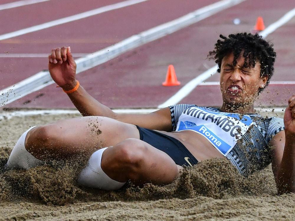 Mihambo gewinn auch den Wettkampf in Dessau