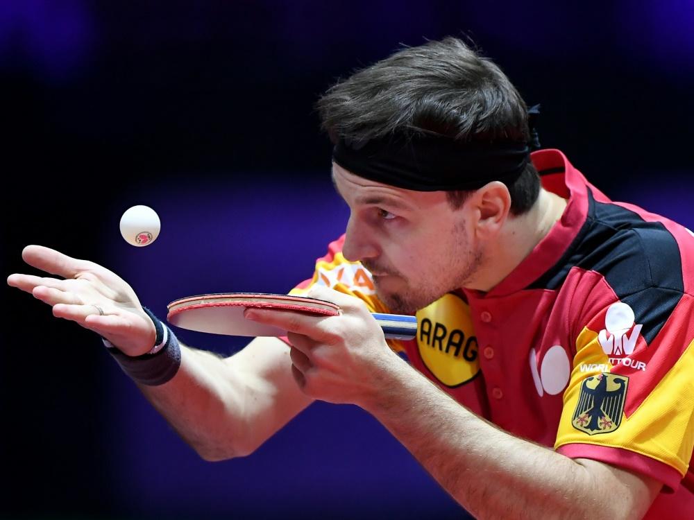 Timo Boll wurde zum Sportler des Monats gewählt