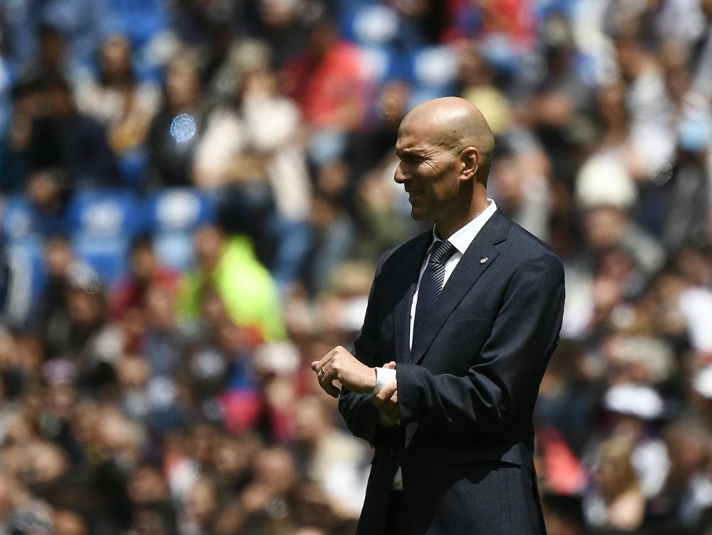 Zinédine Zidane übernimmt wieder die Leitung im Trainingslager