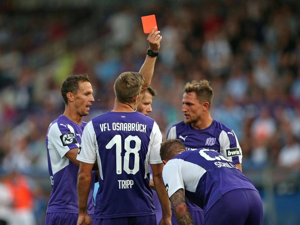 Die Spieler des VfL Osnabrück werden virtuell trainieren