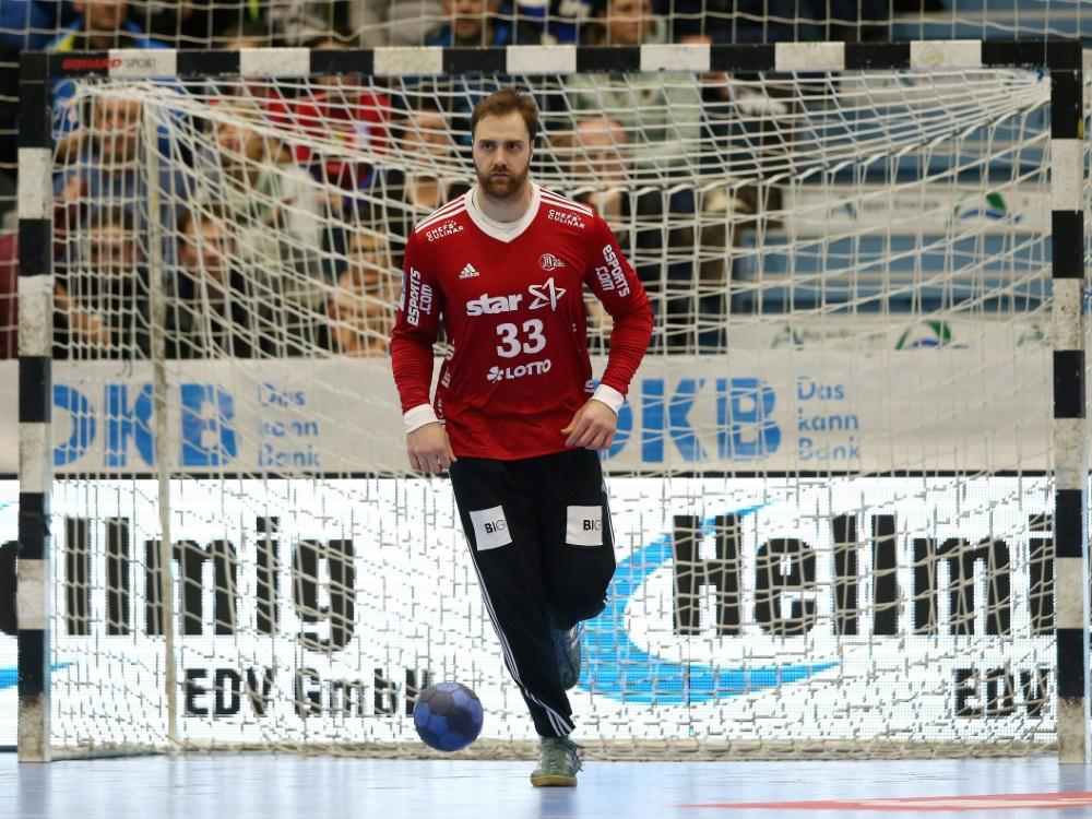Hofft auf Hilfe vom Bergischen HC: Andreas Wolff