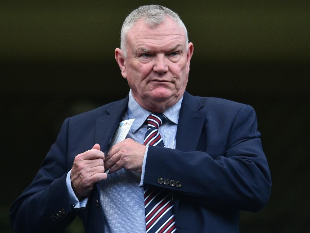 FA-Vorsitzender Greg Clarke ist zurückgetreten
