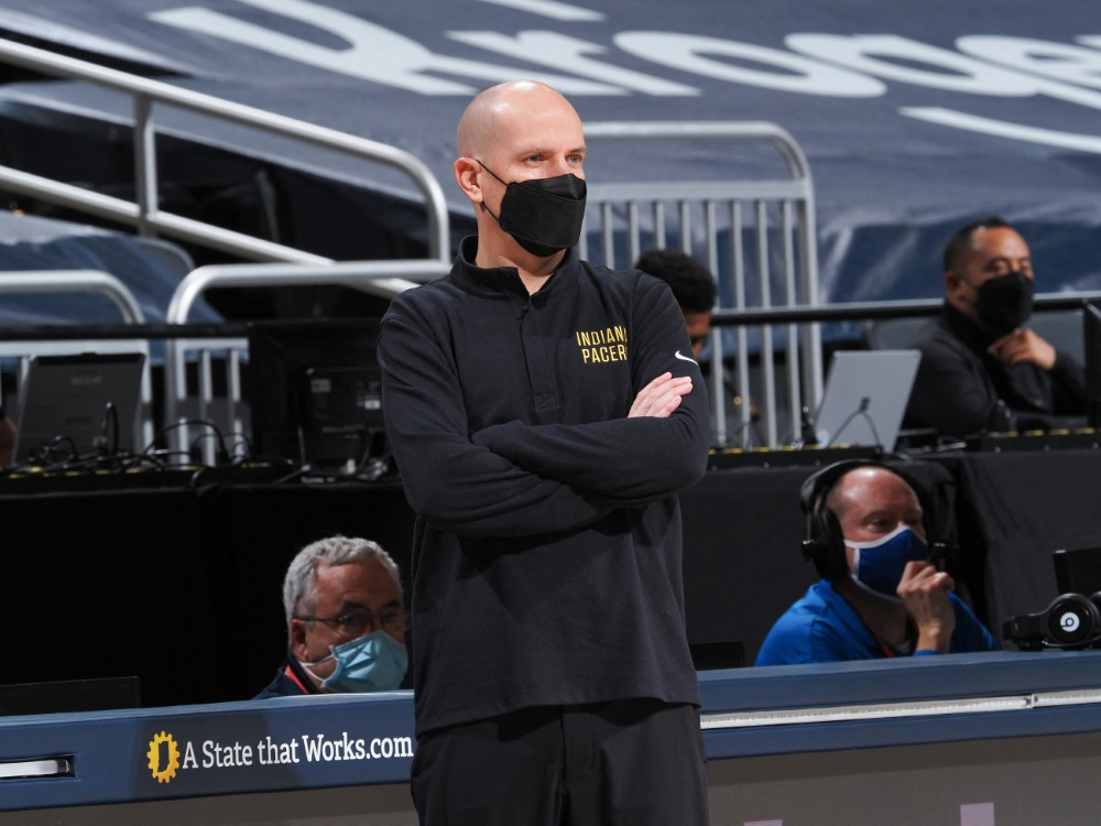 Die Indiana Pacers trennen sich von Nate Bjorkgren