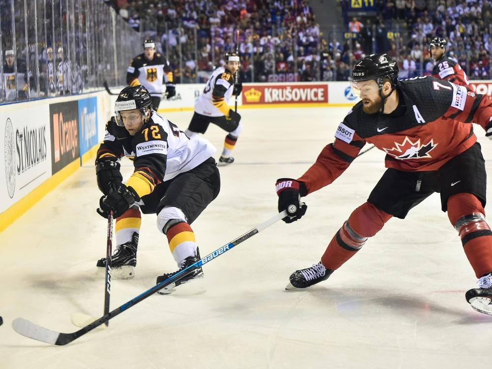 Das DEB-Team trifft bei Olympia 2022 auch auf Kanada