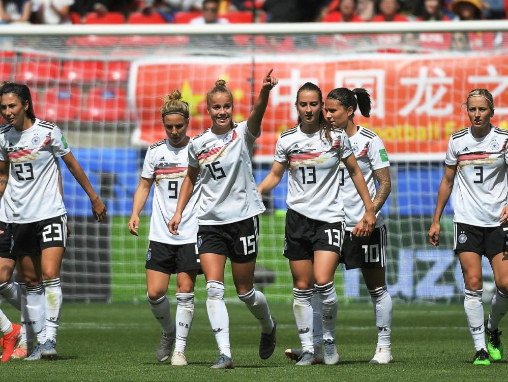 DFB-Frauen schicken Grüße an die deutschen U21-Jungs
