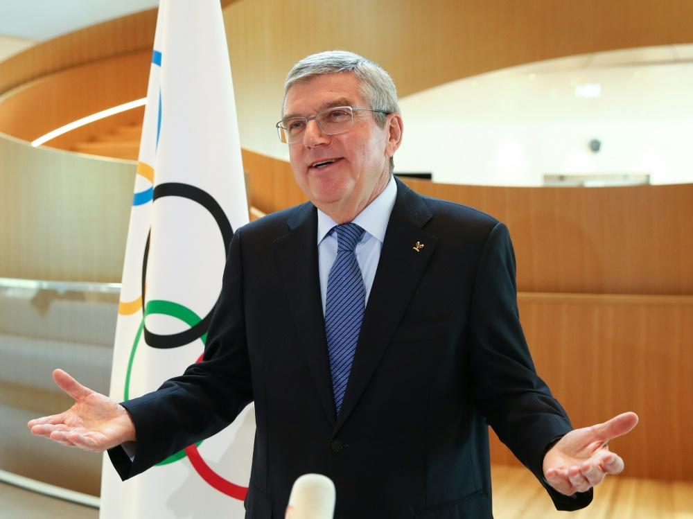 Thomas Bach ist für Olympia in Tokio zuversichtlich