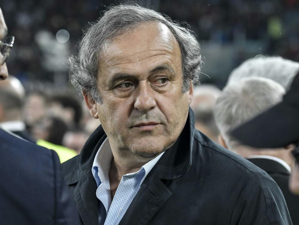 Michel Platini nach Festnahme wieder auf freiem Fuß