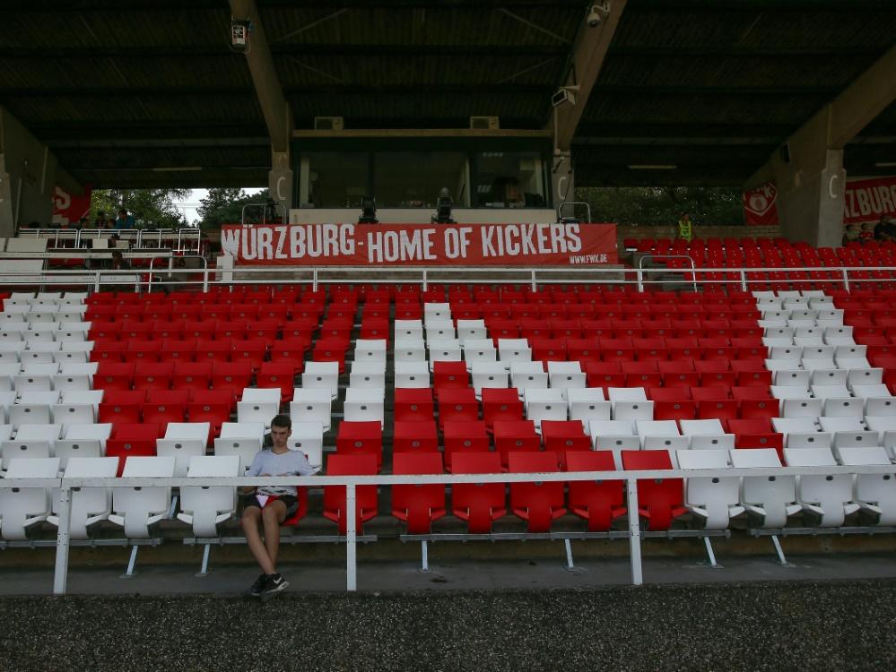 Die Würzburger Arena bleibt zum Zweitligaauftakt leer