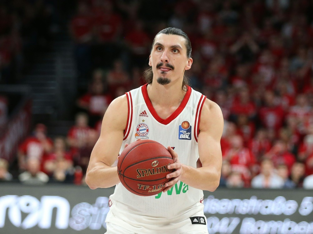Nihad Djedovic gelangen beim Münchner Heimsieg 18 Zähler