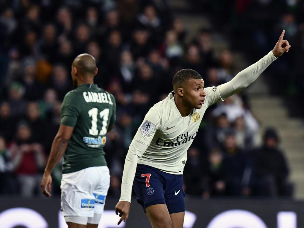 Mbappé schießt PSG zum Sieg gegen den Rekordmeister