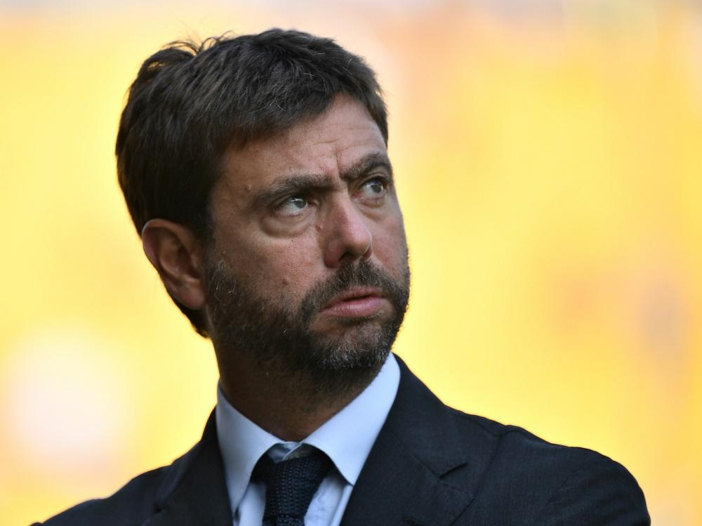 "Andrea Agnelli sieht ""existenzielle Bedrohung für Klubs"""