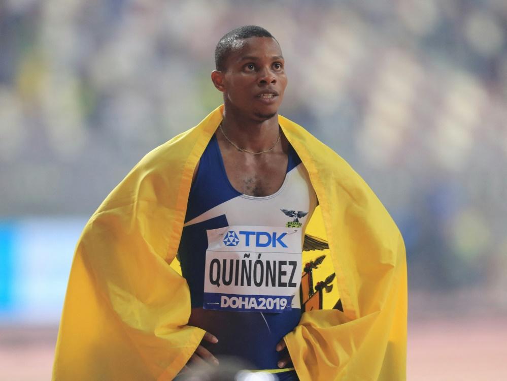 Alex Quinonez für ein Jahr gesperrt