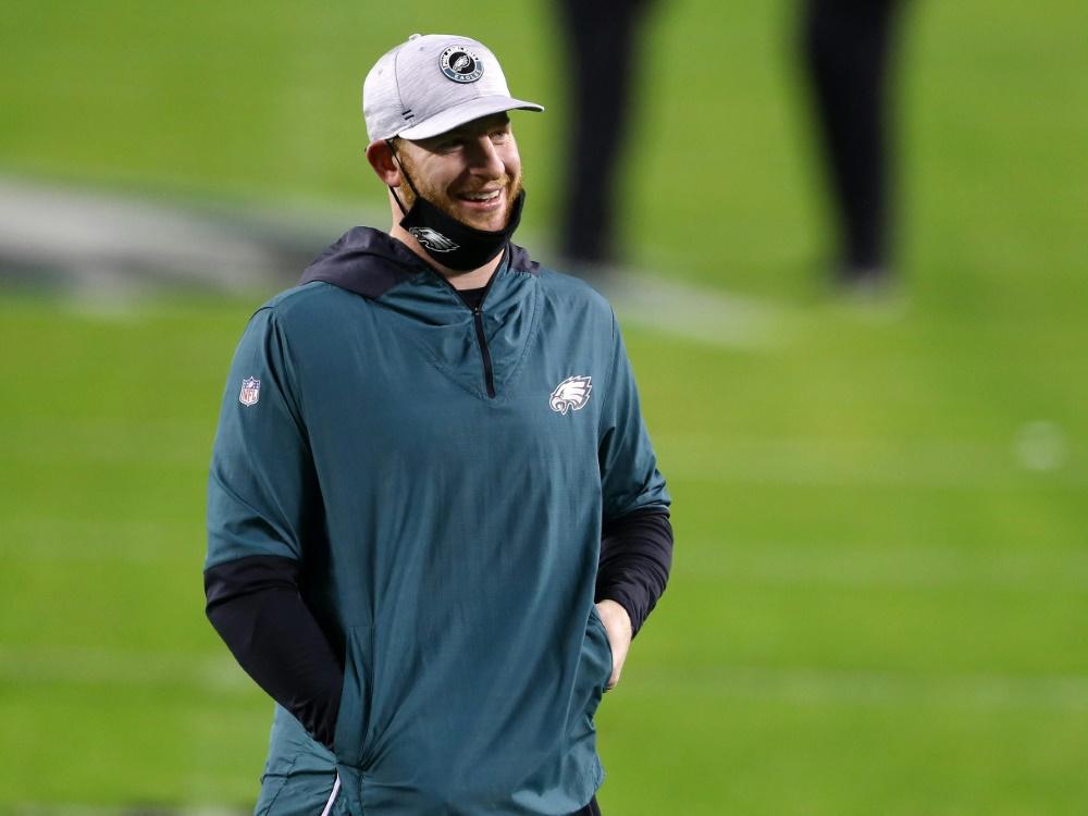 Abschied von den Eagles: Carson Wentz