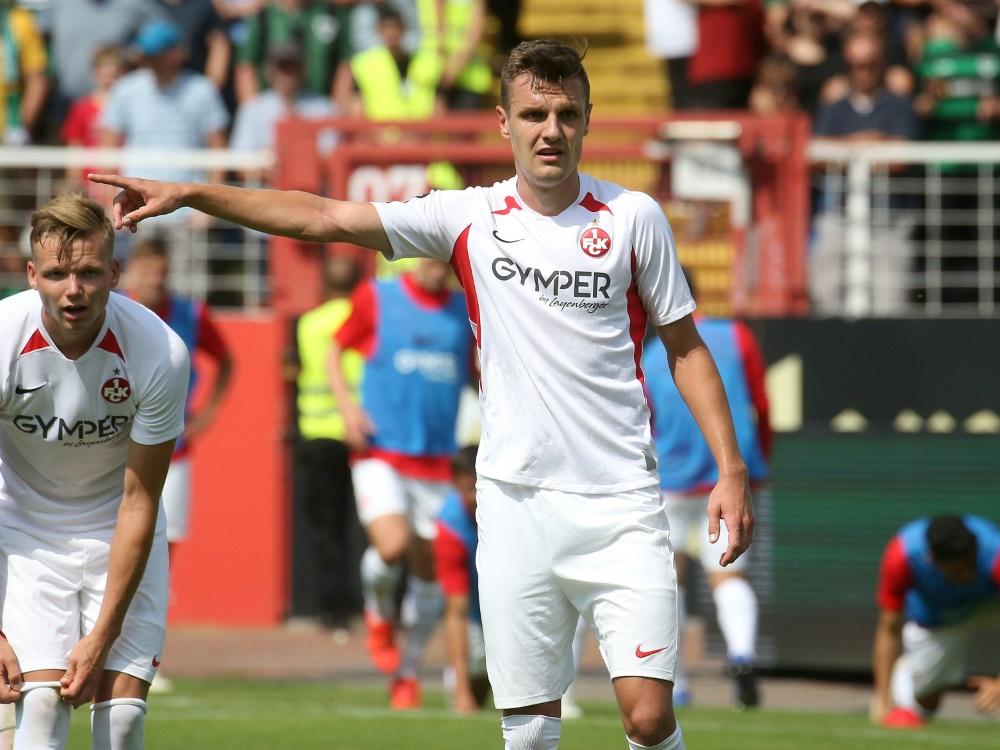 Gino Fechner wird Kaiserslautern im Saisonfinale fehlen