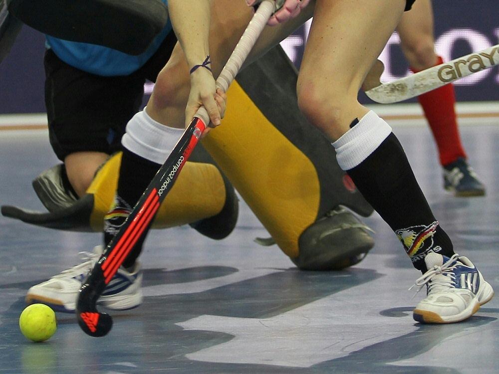 Michelle Meister ist Hockey-Weltschiedsrichterin