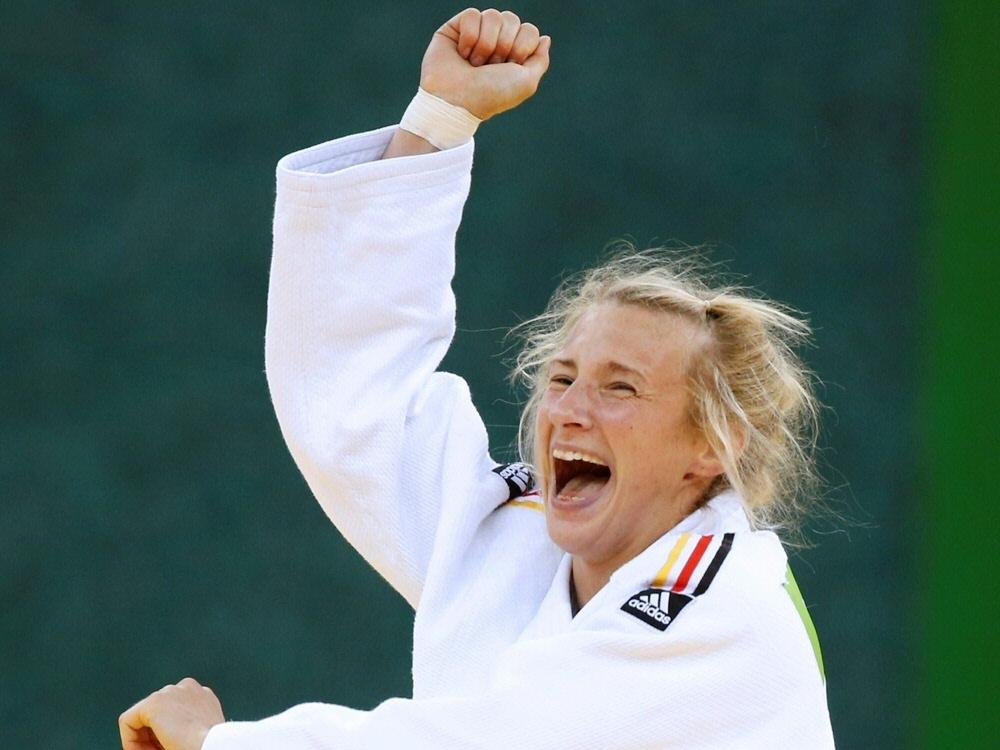 Martyna Trajdos holte Bronze bei der EM in Tel Aviv