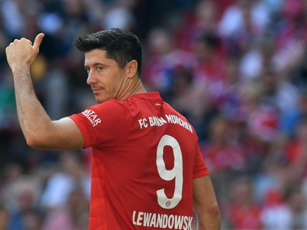 Lewandowski träumt von einem Abschied wie seine Ex-Kollegen Ribéry und Robben