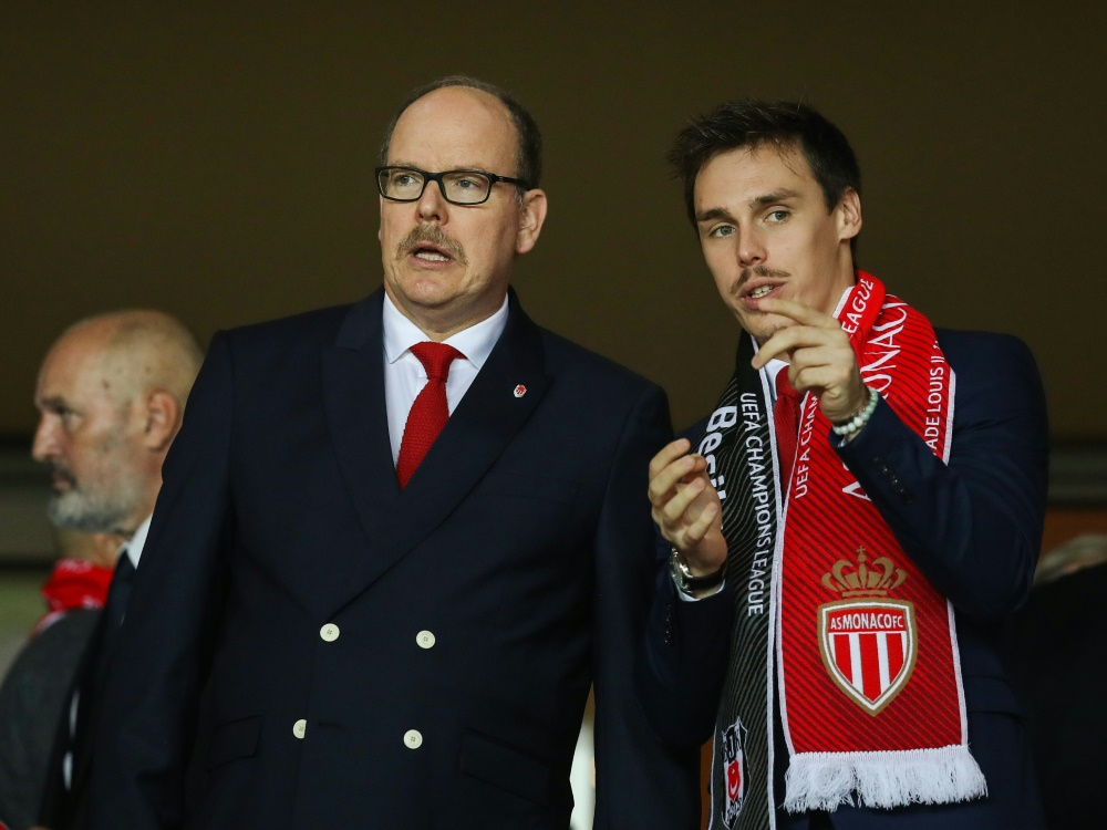 Louis Ducruet (r.) ist neuer Assistent des Vizepräsidenten