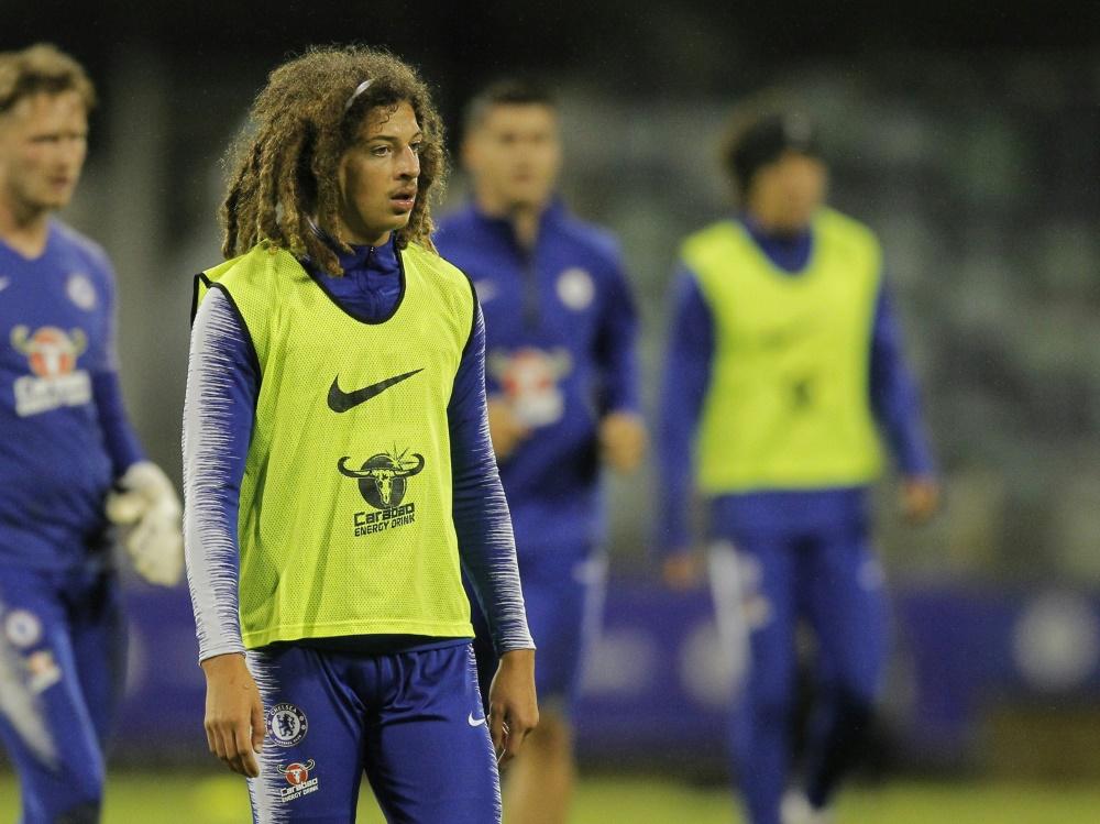 Ethan Ampadu ist derzeit von Chelsea an Leipzig ausgeliehen