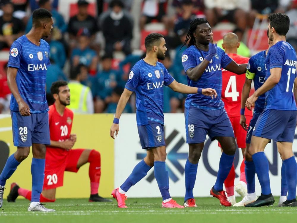 Spieler von Al Hilal wurden positiv auf Corona getestet