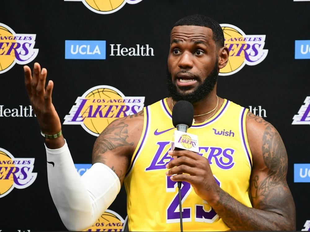 LeBron James trifft mit den Lakers in China auf die Nets