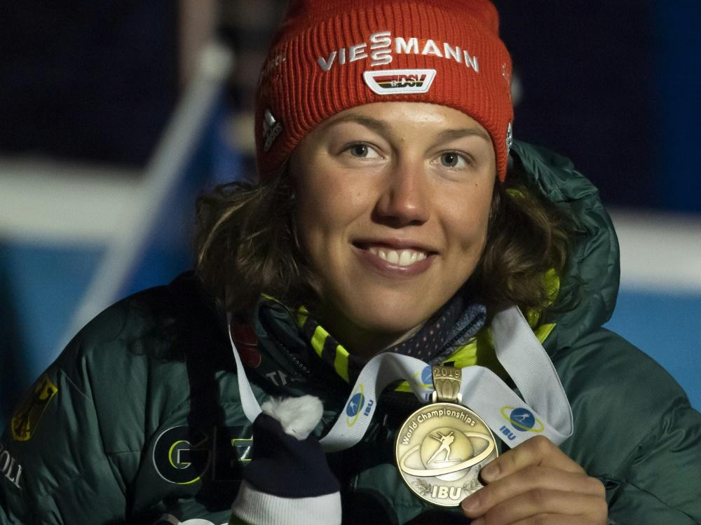 Laura Dahlmeier wird ZDF-Biathlon-Expertin
