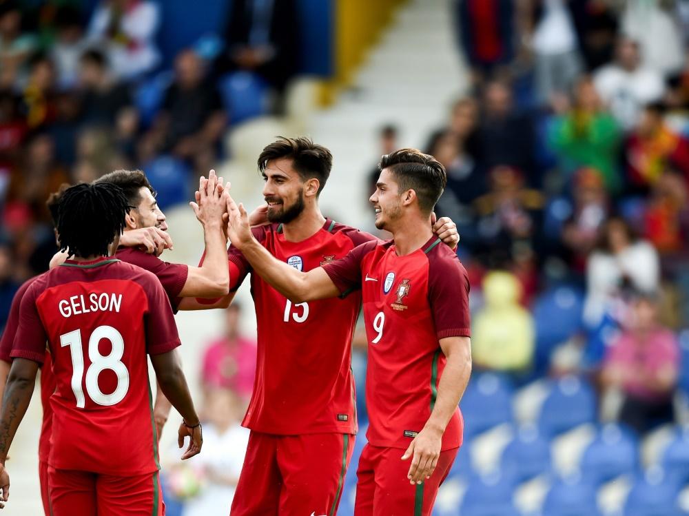 Portugal Schießt Sich Für Confed Cup Warm