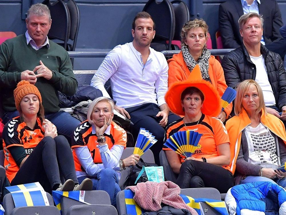 Zuversichtlicher Fan: Rafael van der Vaart