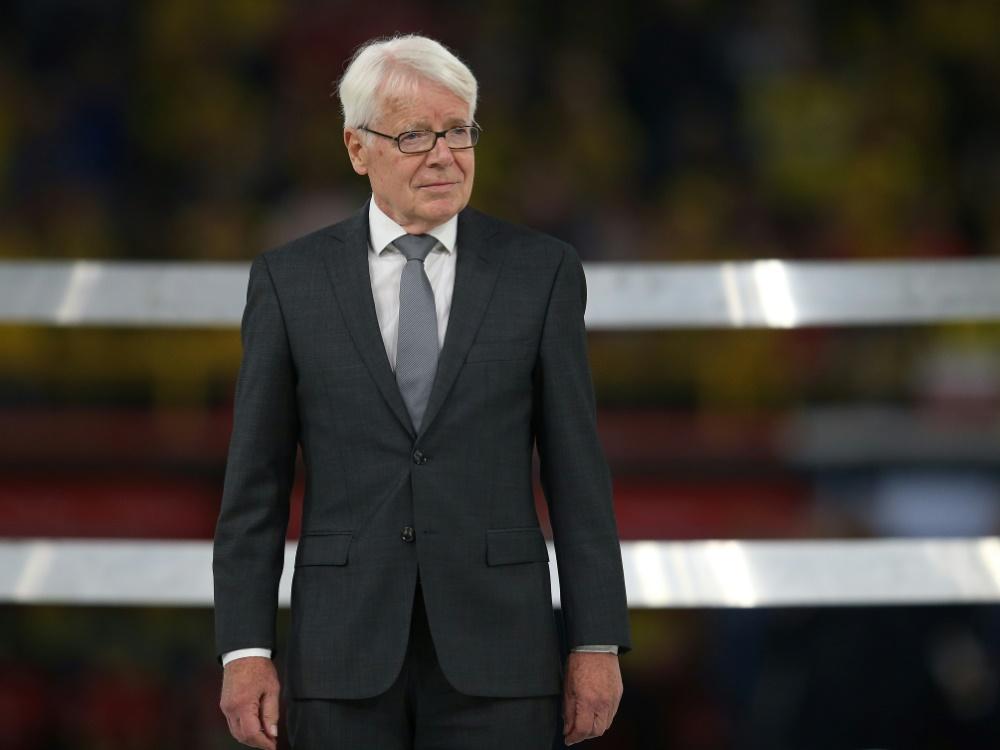 Reinhard Rauball übte Kritik an HBF-Titelentscheidung