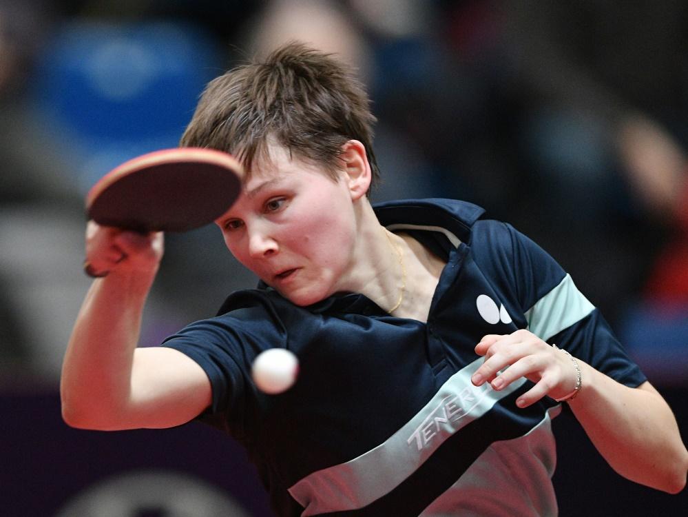 Nina Mittelham freut sich über den Einzug ins Halbfinale