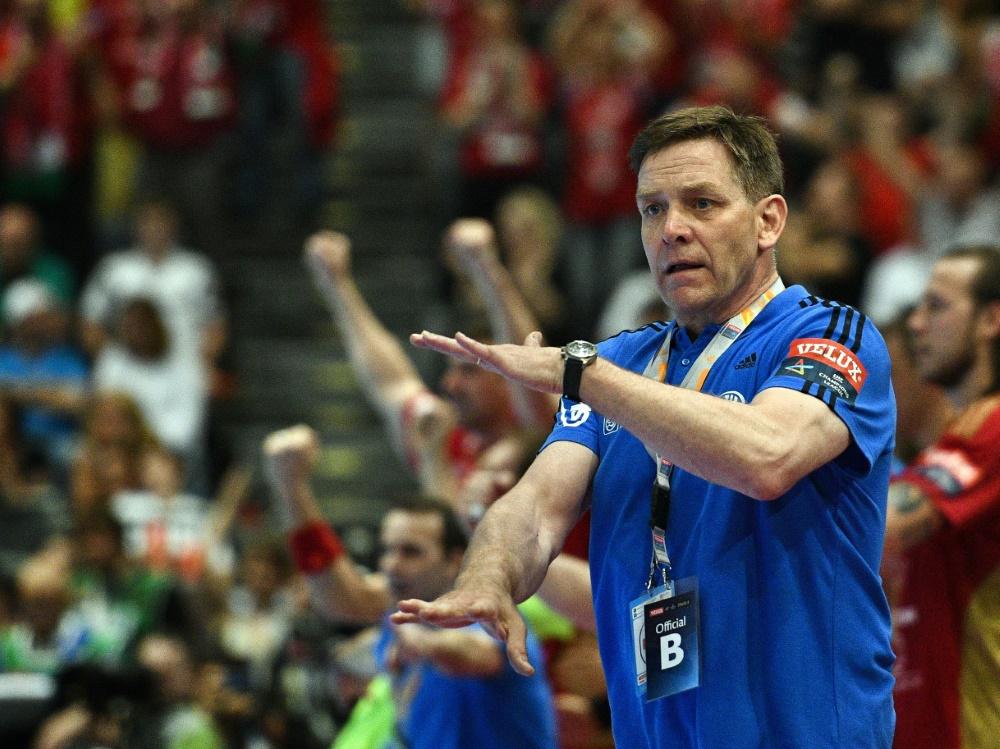 Seit März ist Alfred Gislason Trainer des DHB-Teams