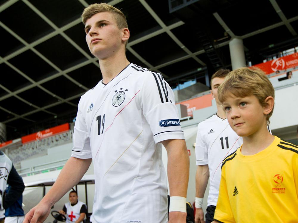 Timo Werner trifft für die deutschen U19-Junioren